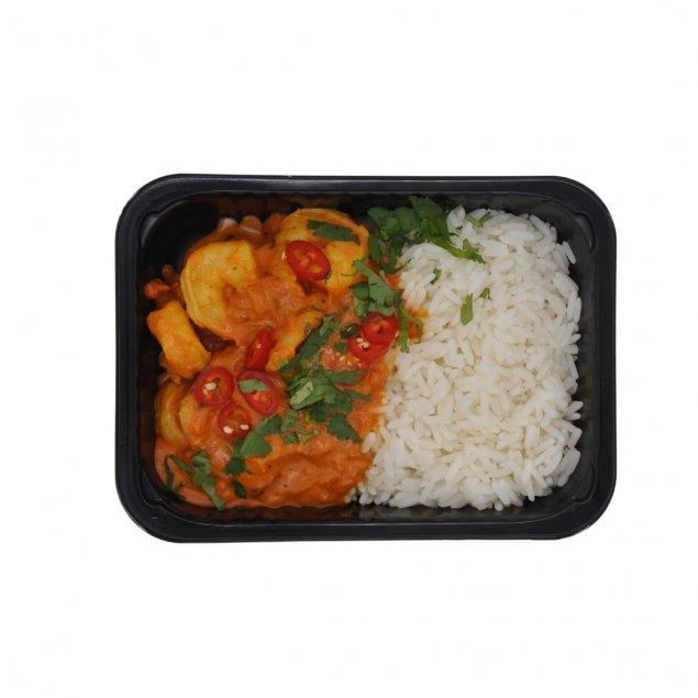 Prawn Masala | Rice