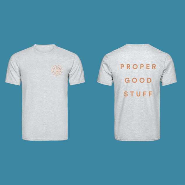 Unisex T-shirt - Proper Good Stuff (medium)