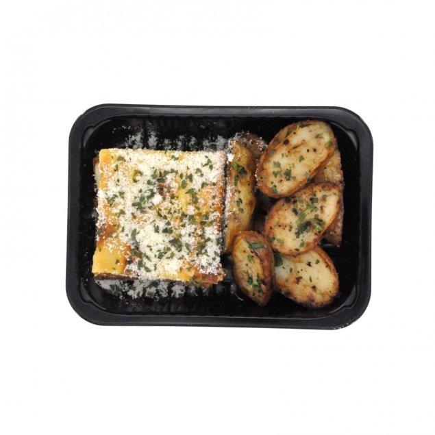 Lasagne & Garlic Spuds