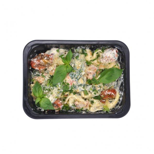 Spinach & Ricotta Tortelloni | Sun Blushed Tomato Cream