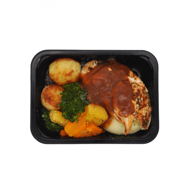 Roast Chicken Dinner Veg & Gravy