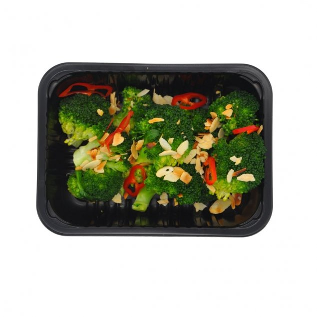 Broccoli with Chilli and Almond